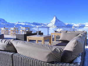 Blue Lounge - Skihütte