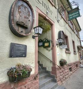"""Gasthaus und Metzgerei """"Zur Linde"""""""