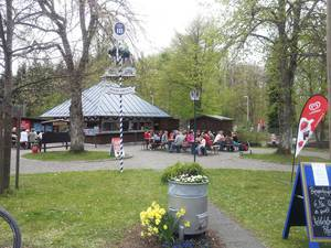 Bayerischer Biergarten am Waldheim