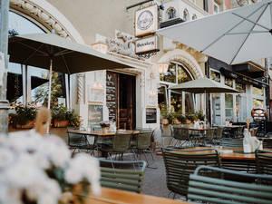 Gasthaus Gutenberg - Terrasse