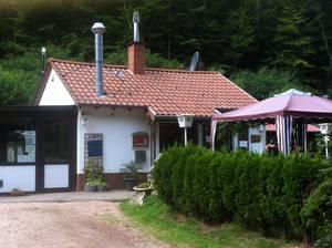 """Fischerhütte """"Waldschenke"""" im Grohbachtal"""