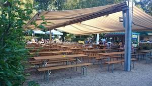 Christophbräu Biergarten