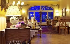 """Restaurant """"19hundert"""" im Hotel Landhaus am See """"Alte Eichen"""""""
