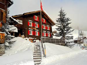Gasthaus Hochwang im Winter