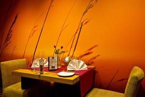 Tisch für zwei im Restaurant 1877, © Boutiquehotel Myn Utspann