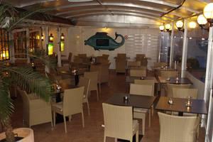 Überdachter Wintergarten, © Fischrestaurant Wiesendanger