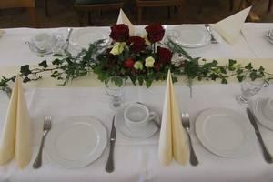 Deko für Hochzeitsfeier, © Christiansen's Gasthof