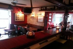 Blick von der Bar ins Restaurant, © Steakbar Parrilla