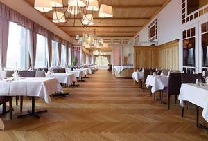 Speisesaal des Märchenhotels Bellevue