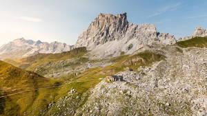 Lage Carschinahütte