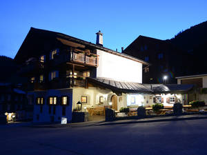 Nachtstimmung Hotel Madrisajoch