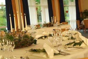 Tisch im Parkhotel Weiskirchen