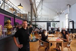Kulturcafé im Kesselhaus