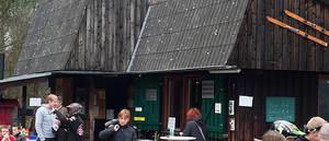 Hütte am Rabennest Foto Reimund Kaiser