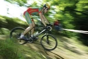 Mountainbiker Bike Bikearena Sauerland