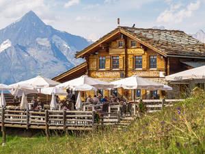 Mountain restaurant Hannighüsli
