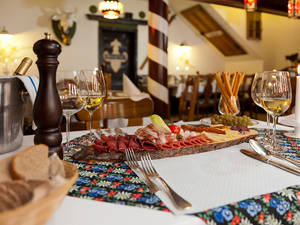 Walliser Platte im Restaurant Walliserhof