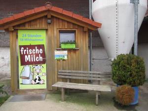 24 Stunden Frischmilch Tankstelle