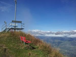 Gipfelhütte Piz Mundaun