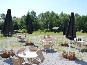 Terrasse im Ferienpark Hollandia