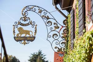 Gasthaus Löwen Schild