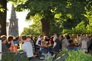 Greiffenegg Schlössle beer garden