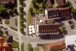 Hotel Gasthaus Schützen from above