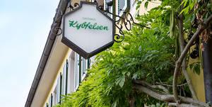Gasthaus Kybfelsen sign