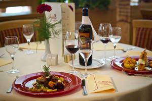 Restaurant im Hotel Chrysantihof