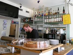 Marktschenke Straßencafé am Marktplatz Tübingen