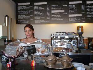 Primer Coffeeshop an der Neckarbrücke in Tübingen