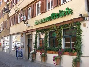 Gaststätte Krumme Brücke Tübingen