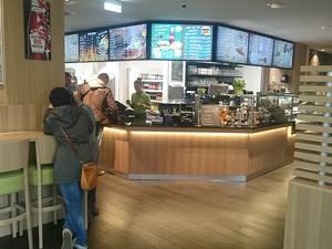 Amerikanische Esskultur im Burgermeister - Cafe Gino Tübingen