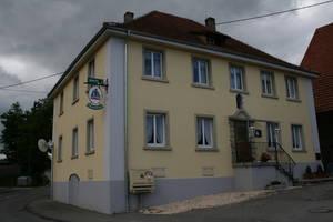 """Gasthaus Kreuz """"die Dünnelestube"""" in Wiechs"""