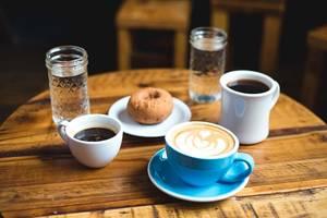 Café am Krankenhaus