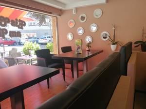 Eiscafé im herzen der historischen Innenstadt in Löffingen