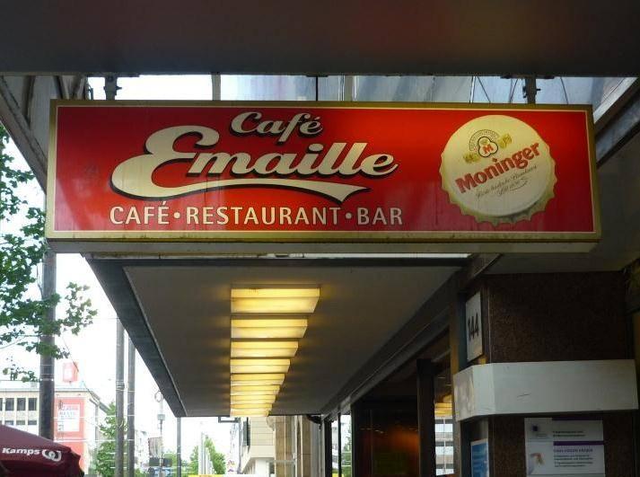 Café Emaille