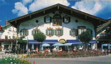Aussenansicht Hotel Alte Post, Oberammergau