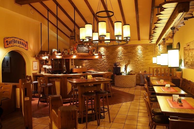 Innenansicht / Restaurant Dorfbrunnen
