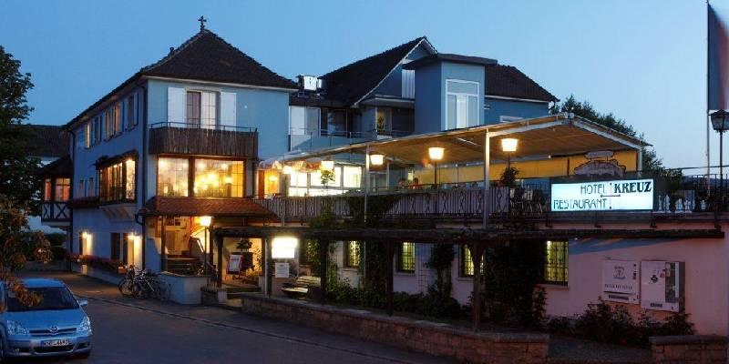Hotel-Restaurant Kreuz GmbH bei Nacht - © Hotel-Restaurant Kreuz GmbH