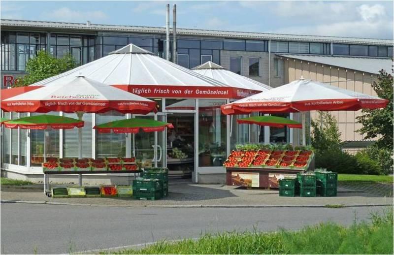 Gemüse-Pavillon