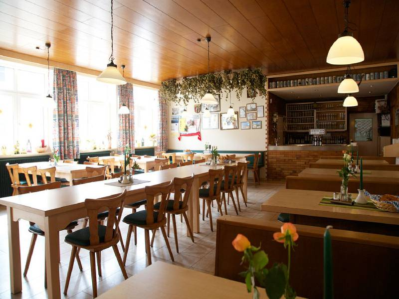 Gaststube im Elsendorfer Hof im Hopfenland Hallertau