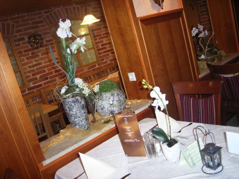 Gastraum im Gasthaus Paulus in Neustadt an der Donau im Hopfenland Hallertau