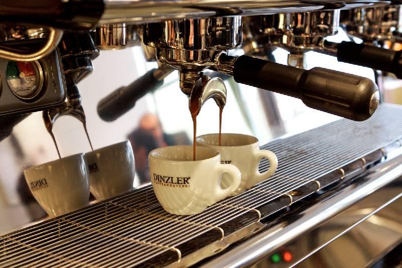 Frisch zubereiteter Kaffee