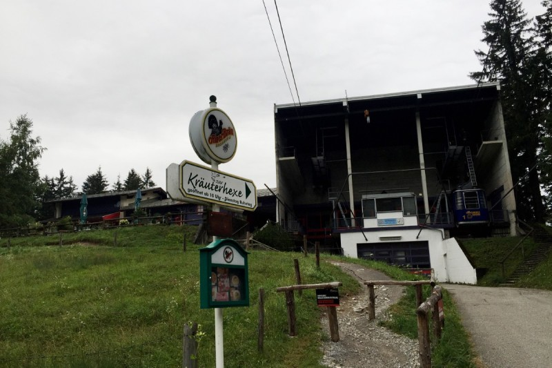 Zur Kräuterhexe bei der Mittelstation Hochriesbahn © Chiemsee-Alpenland Tourismus