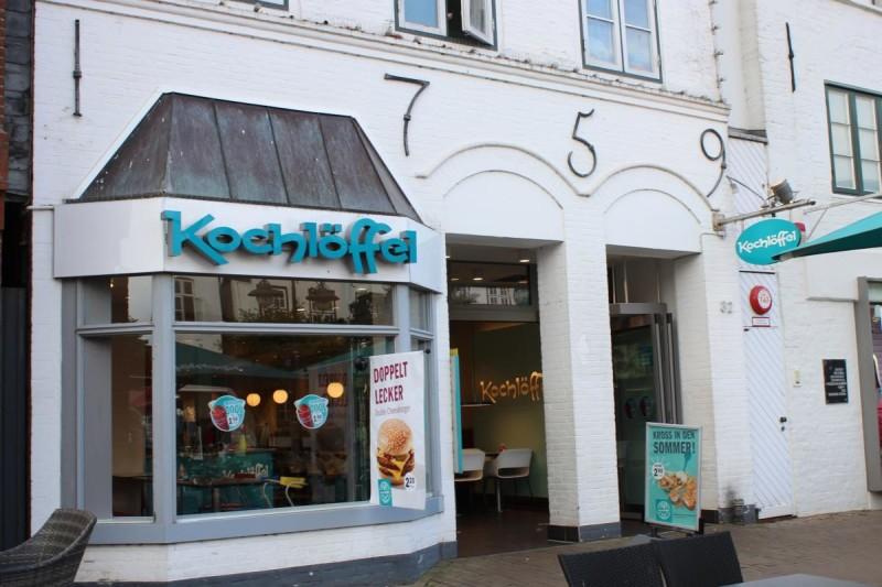 Eingang zum Husumer Kochlöffel (c) Tourismus und Stadtmarketing Husum GmbH