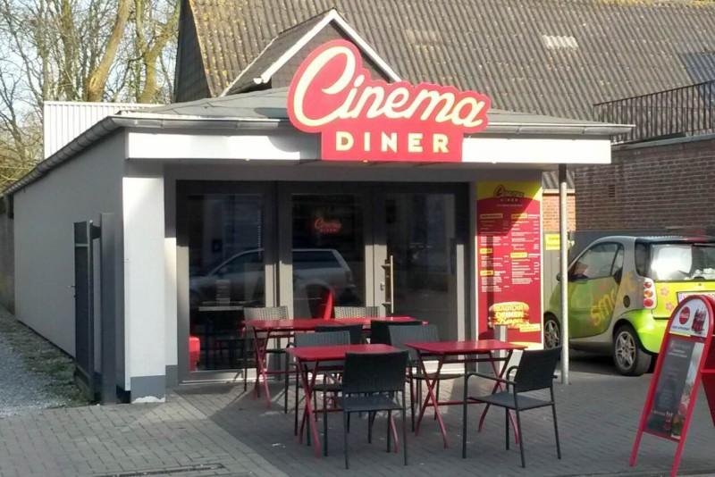 Essen und Trinken am Kino, © Cinema Diner Husum