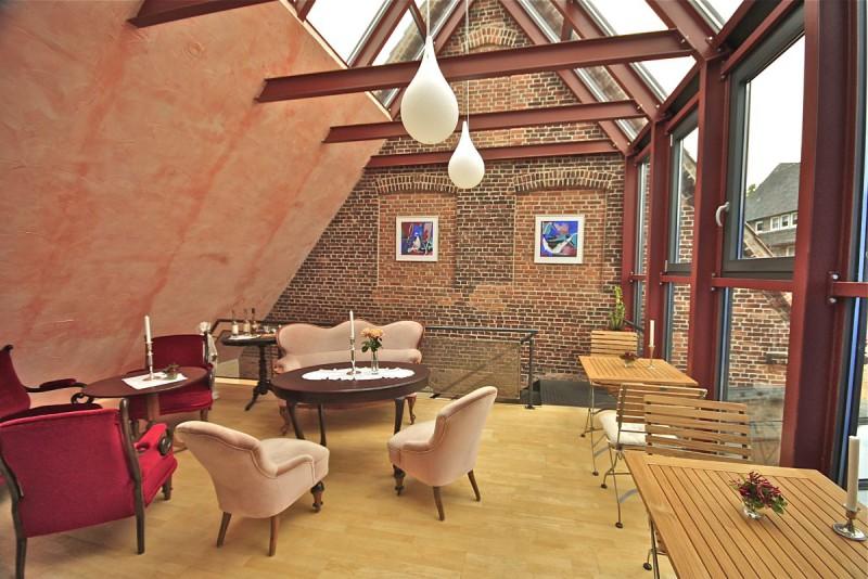 Bio-Café in Husum, © Ebbe & Flut