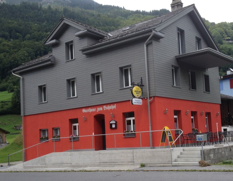 Gasthaus zum Bahnhof Sommeransicht