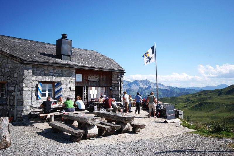 Carschinahütte SAC